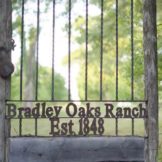 2020: The historic Bradley Oaks Ranch